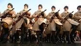 Diễu binh tái hiện sự kiện duyệt binh lịch sử tại Quảng trường Đỏ