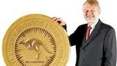 Đồng tiền vàng nặng 130kg