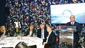 Thủ tướng Nguyễn Xuân Phúc phát biểu tại hội nghị. Ảnh: TTXVN