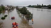 Trung Tây nước Mỹ đối mặt với nguy cơ lũ lụt