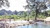 Điểm du lịch Suối Tạ Bó ở xã Yên Khê, huyện Con Cuông, Nghệ An. Ảnh: Báo Nghệ An