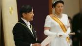 Nhật Hoàng Naruhito phát biểu trước người dân sau khi lên ngôi. Ảnh: REUTERS