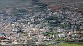 Hình ảnh thị trấn Majdal Shams trên Cao nguyên Golan do Israel chiếm đóng ngày 26-3-2019.