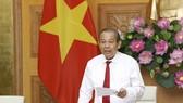 Phó Thủ tướng Thường trực Chính phủ Trương Hòa Bình phát biểu tại Hội nghị. Ảnh: VGP
