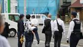 Cảnh sát điều tra tại hiện trường vụ tấn công bằng dao ở Kawasaki, tỉnh Kanagawa, Nhật Bản, ngày 28-5-2019. Ảnh: THX/TTXVN