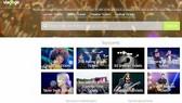 Giao diện website Viagogo