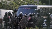 Lực lượng an ninh được triển khai tới nhà tù Altamira. Ảnh: TTXVN