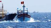 Phản đối tàu Trung Quốc cản trở ngư dân Việt Nam