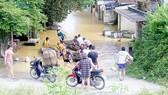 Cứu trợ khẩn cấp các địa phương bị ảnh hưởng bão lũ