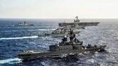 Nhật-Mỹ-Ấn sẽ tổ chức tập trận hải quân 3 bên tại vịnh Bengal vào tháng 7/2017. Ảnh: AP