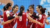 Đội tuyển nữ Việt Nam. Ảnh: Thiên Hoàng