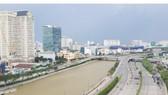 Dự án cải tạo kênh Tàu Hủ - Bến Nghé - Đôi - Tẻ sử dụng nguồn vốn ODA của Nhật Bản. Ảnh: MỸ HẠNH