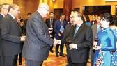 Thủ tướng Nguyễn Xuân Phúc tiếp các vị Đại sứ, Đại biện, Trưởng đại diện các tổ chức quốc tế tại Việt Nam