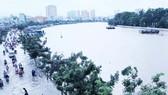 Lũ kết hợp triều cường, sông Sài Gòn đạt mức báo động 3