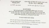 Trước đó, Quyết định số 77/2014/QĐ-UBND (QĐ77) ngày 12-11-2014 khiến hơn 1.000 CB-CC-VC, chiến sĩ lực lượng vũ trang của tỉnh đã bị xử lý kỷ luật