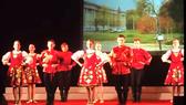 Đoàn múa dân gian Nga biểu diễn tại Festival Huế 2018
