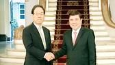 Chủ tịch UBND TPHCM Nguyễn Thành Phong tiếp ông Keiji Kimura, Chủ tịch J-CODE