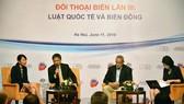 Tranh chấp ở biển Đông phải được giải quyết bằng biện pháp hòa bình theo luật pháp quốc tế