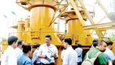 Hệ thống chuyển hóa rác thải thành khí chạy máy phát điện tại bãi rác Gò Cát. Ảnh: THÀNH TRÍ