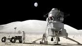 Xây trạm khoa học trên Mặt trăng