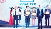 LOCK&LOCK lần thứ 3 liên tiếp nằm trong tốp 10 sản phẩm, dịch vụ tin & dùng