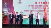 Báo Kinh tế & Đô thị đón nhận Huân chương Lao động hạng nhì