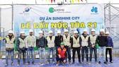 Công ty CP Tập đoàn Xây dựng Hòa Bình cất nóc vượt tiến độ dự án Sunshine City