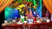 Làng nào cũng biện cỗ mùa chạp mả vào cuối năm ở Ba Đồn và Quảng Trạch