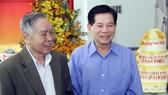Đồng chí Phan Văn Khải và đồng chí Nguyễn Minh Triết trong ngày sinh nhật cuối cùng của đồng chí Phan Văn Khải (25-12-2017)