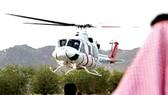 Saudi Arabia triển khai du lịch trực thăng