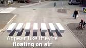 Vạch chỉ đường 3D bảo vệ người đi bộ