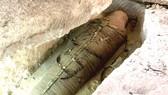 Discovery trực tiếp cảnh mở quách chứa xác ướp Ai Cập