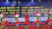 Tiết mục văn nghệ khai mạc triển lãm Telefilm và Vietnam ICTComm 2019
