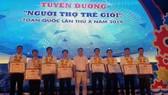 """3 kỹ sư trẻ của PVFCCo được vinh danh """"Người thợ trẻ giỏi"""""""