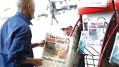 Doanh thu báo in ở Nam Phi trong năm 2018 giảm 7,7%