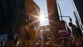 Thành phố New York đã ban bố tình trạng khẩn cấp vì nắng nóng. Ảnh: TTXVN