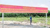 Thông báo của UBND xã Long Thọ về đất vướng quy hoạch