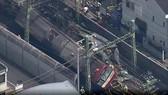 Hiện trường vụ tai nạn đường sắt ở Nhật Bản. Nguồn: RT