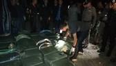 15 triệu viên methaphetamine bị cảnh sát Thái Lan thu giữ sau khi bắn chết một kẻ buôn lậu ngày 6-12-2018. Ảnh: BERNAMA