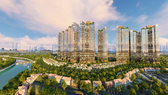 Phối cảnh tổng thể dự án Sunshine City Sài Gòn