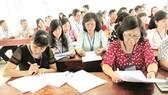 Giám sát chặt công tác chấm thi