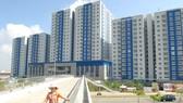 Một khu chung cư mới hoàn thành tại Q.8, TPHCM. Ảnh: Cao Thăng