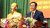 Phó Thủ tướng Chính phủ Vương Đình Huệ phát biểu chỉ đạo hội nghị. Ảnh: Hoàng Hùng - TTXVN