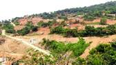Dự án Khu du lịch biển Tiên Sa gây ảnh hưởng đến môi sinh bán đảo Sơn Trà .     Ảnh: NGUYÊN KHÔI