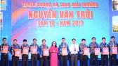 Lãnh đạo TPHCM và Thành đoàn biểu dương các gương thanh niên công nhân đạt giải thưởng Nguyễn Văn Trỗi lần 10