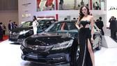 Dòng xe Honda Accord tại triển lãm