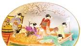 Ngắm hoa Anh đào trên gốm sứ Satsuma