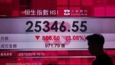 Sắc đỏ chi phối các thị trường chứng khoán châu Á