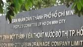 Phê bình 4 tập thể và cá nhân thuộc Công ty Thoát nước đô thị TPHCM