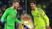 David De Gea (Manchester United) và Thibaut Courtois (Chelsea).